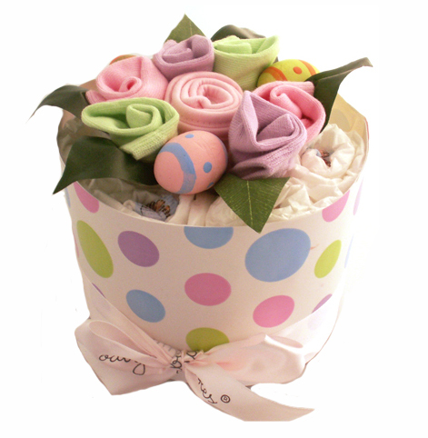 Easter nappy cake personalised baby gifts online babys first easter negle Images